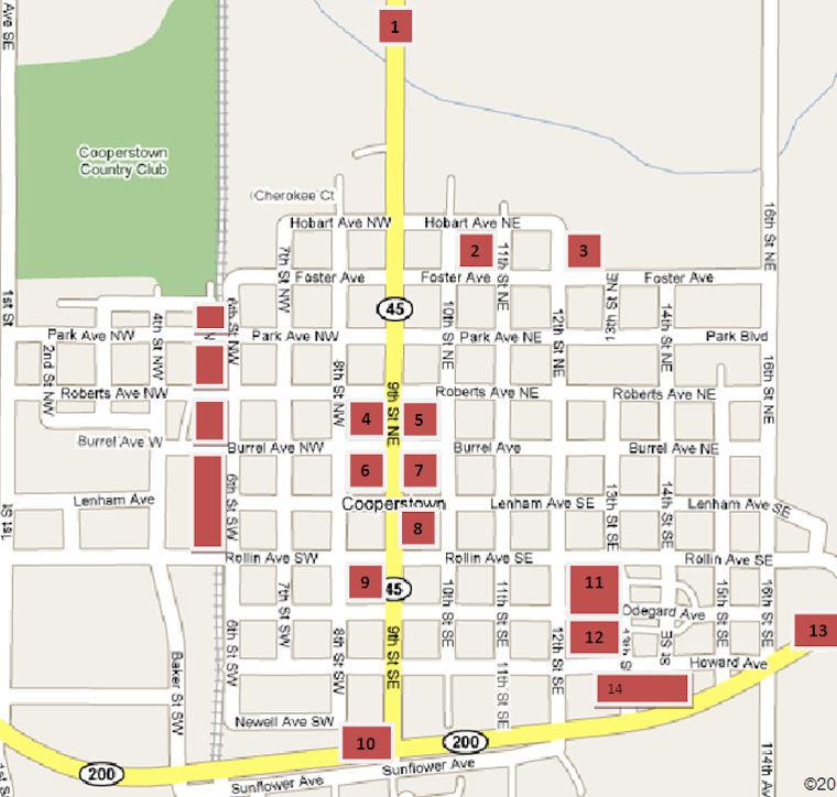 Where Is Cooperstown North Dakota - Where is north dakota